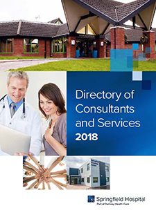 Springfield Hospital Directory of Services 2018